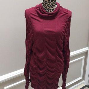 Nic+Zoe sweater silk viscous size XL